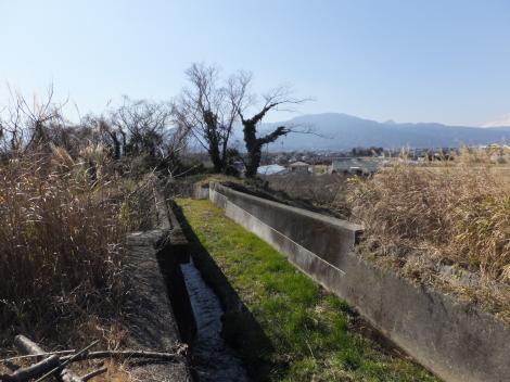 JR東海御殿場線・中河原天井川