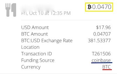 coinbase BTC