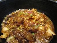 肉とアワビ煮込み