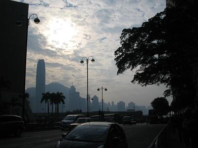 香港サイドの眺め2013年12月21日