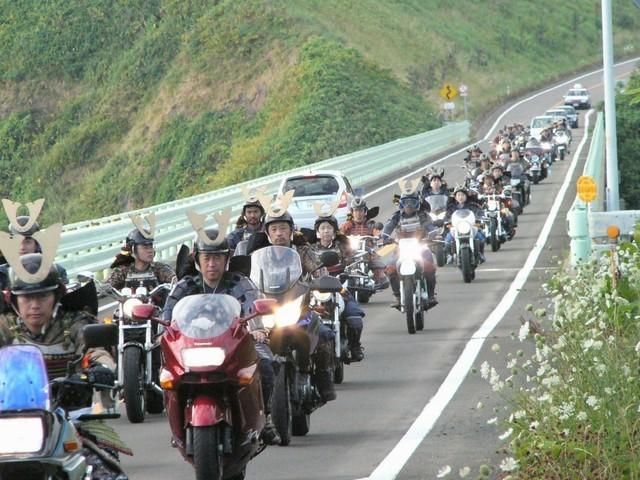 バイク武者軍団
