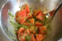 冷製トマトパスタ1