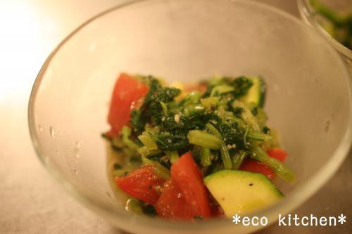 小松菜ごまサラダ