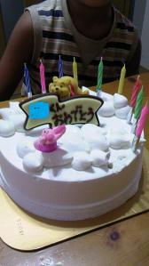 王子ケーキ
