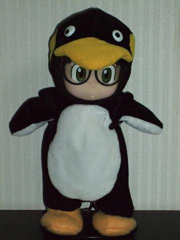 イケてるアラレちゃん「ペンギン」