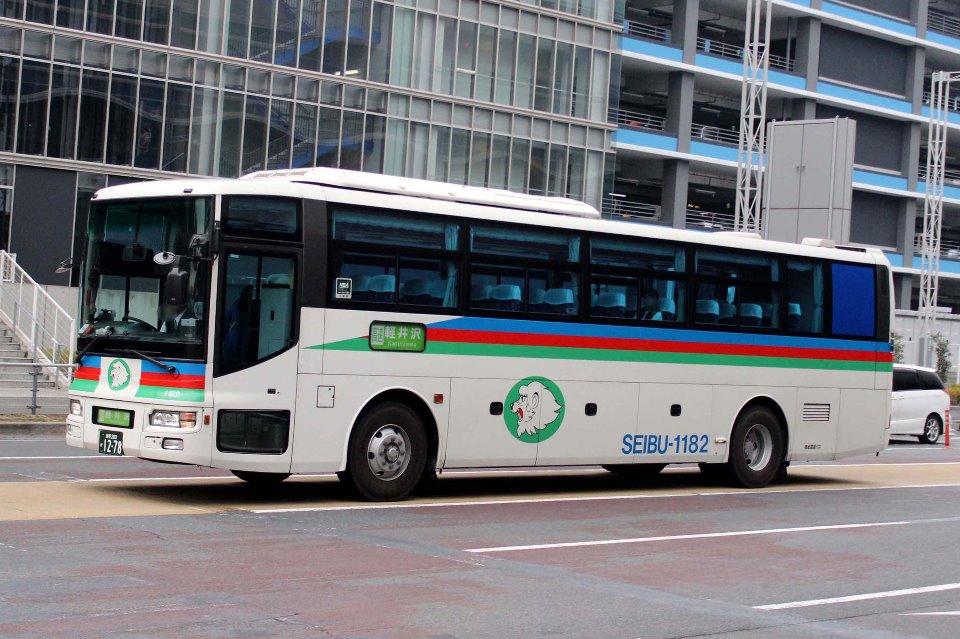 西武高原バス 1182