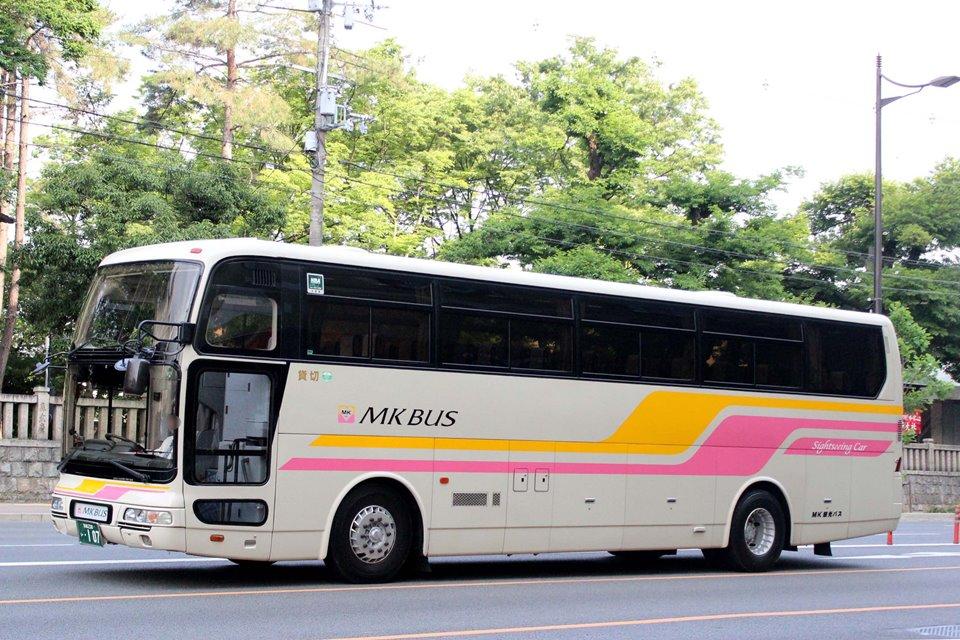MK観光バス い107