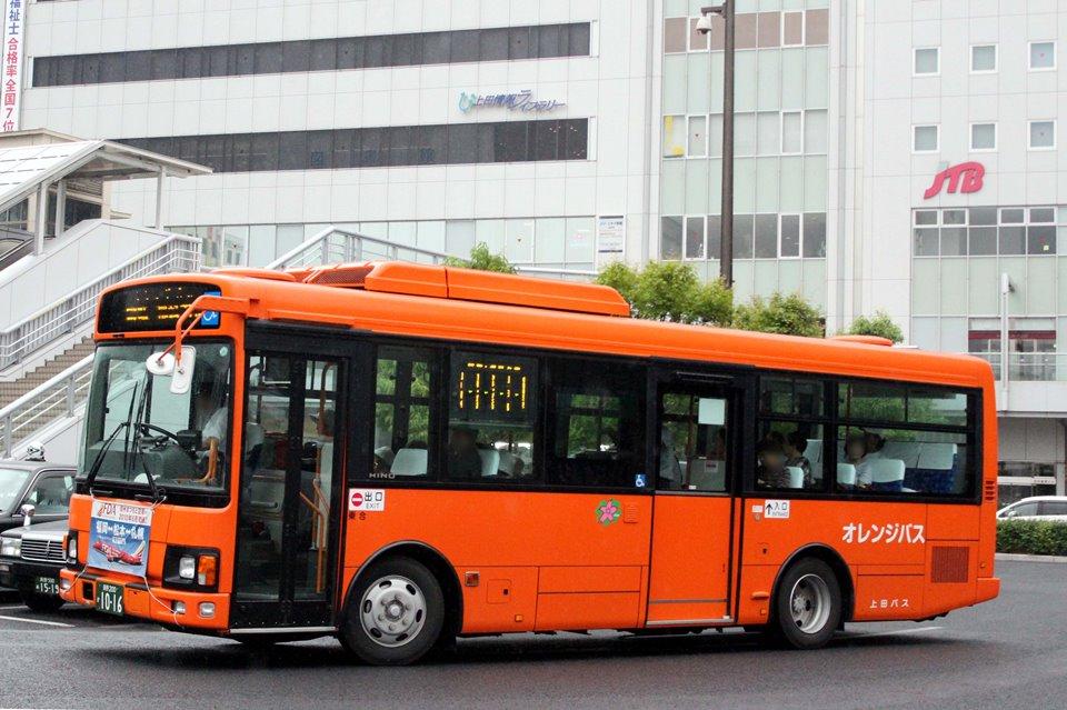 上田バス か1016