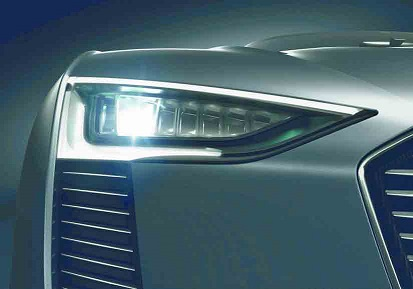 Audi Matrix LED Headlamp