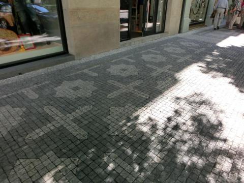 プラハの石畳1