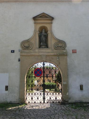プラハ修道院のアイアン装飾