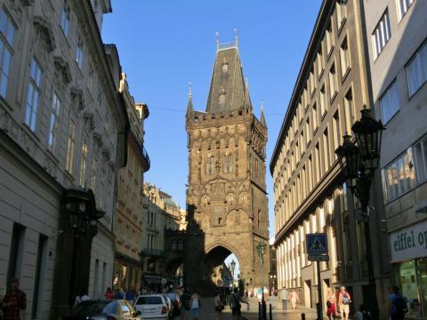 プラハの火薬塔
