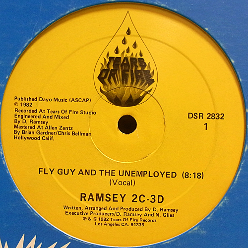 Ramsey 2C 3D Fly Guy And The Unemployed