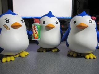 ペンギン1,2,3号