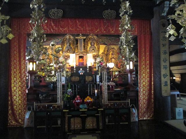 本山立本寺の御宝前
