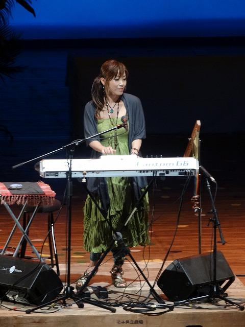 竹口美紀さんの演奏