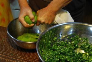 野菜みじんを搾る11