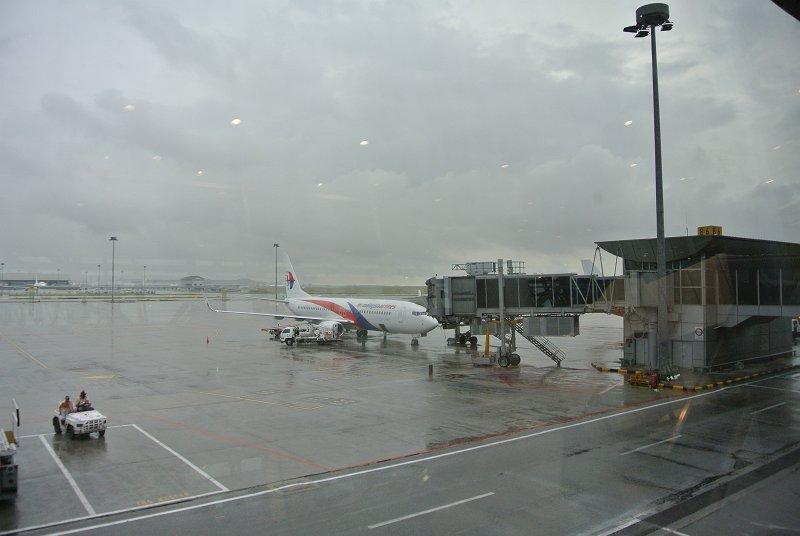 クアランプールは雨
