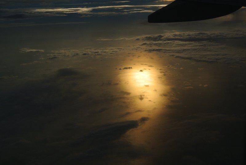 アンダマン海の夕日