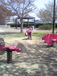 久々の公園だぁ~