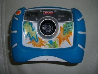 キッズ・タフ・デジタルカメラ(ブルー)