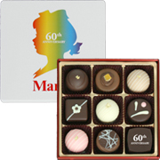 60thアニバーサリーチョコレートボックス