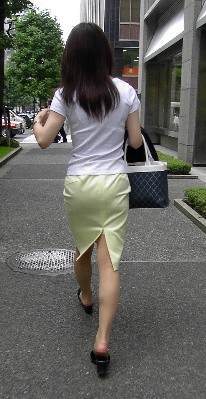 街撮り盗撮 着衣エロ画像 47