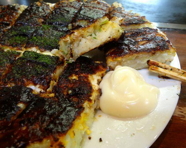 『ふきや 赤坂市場店』チーズ玉焼き・大きめ(マヨネーズ)