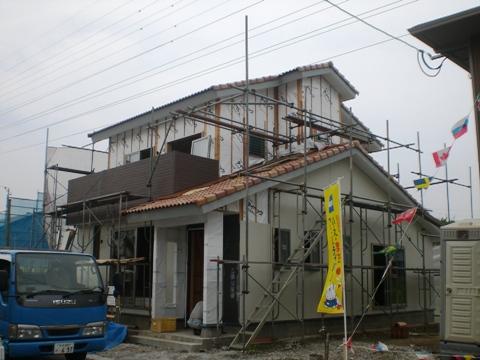外壁工事-1