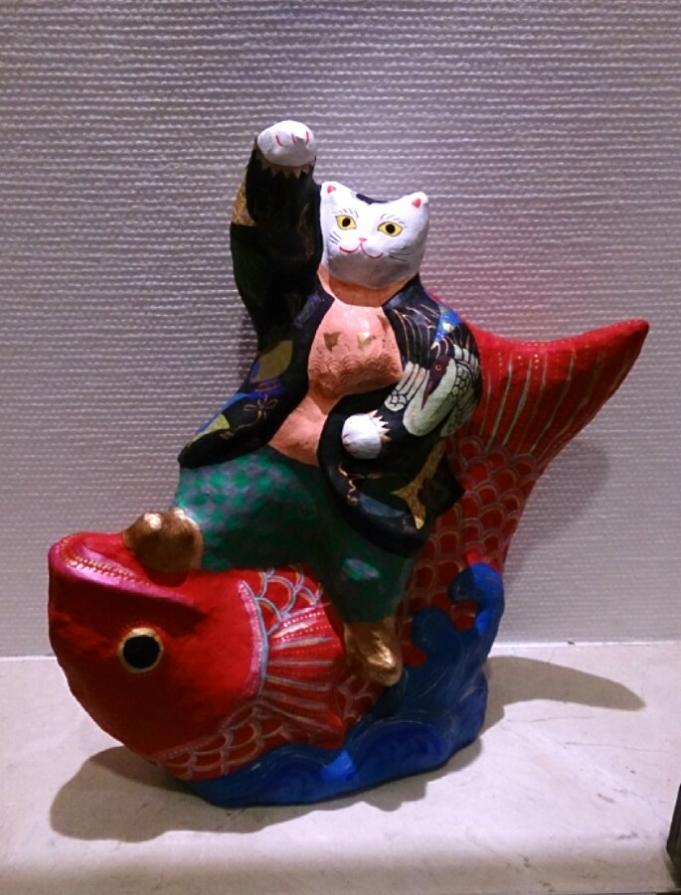 鯉と猫_20131031