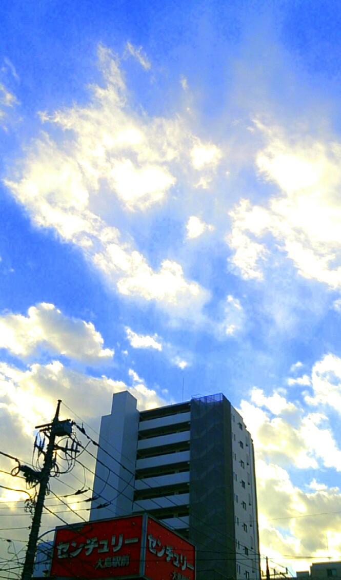 光る雲_20131212