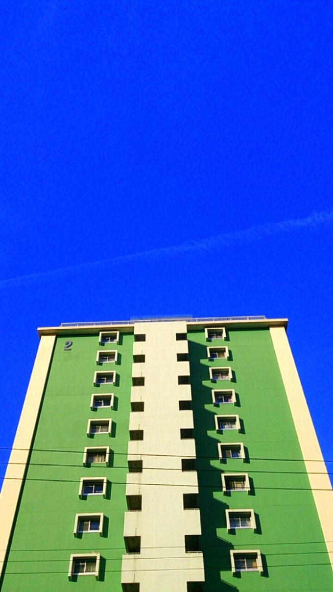 飛行機雲_20131216