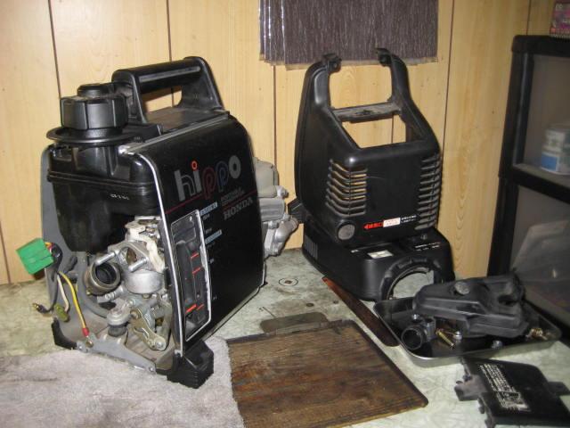 NM発電機修理