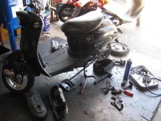 TT駆動系修理