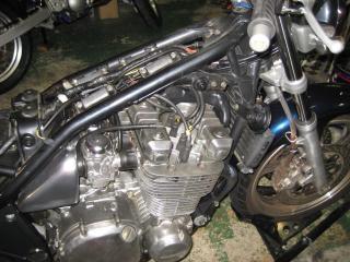 KMエンジンオイル漏れ修理 (5)