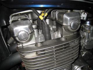 KMエンジンオイル漏れ修理 (1)