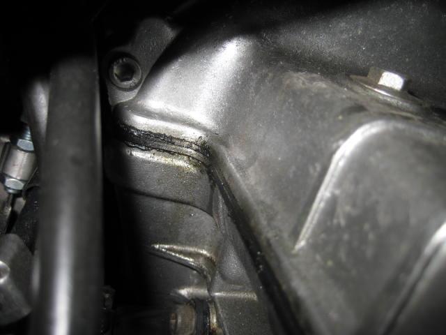 KMエンジンオイル漏れ修理 (11)