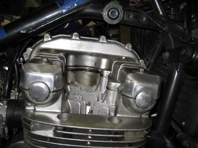 KMエンジンオイル漏れ修理 (8)
