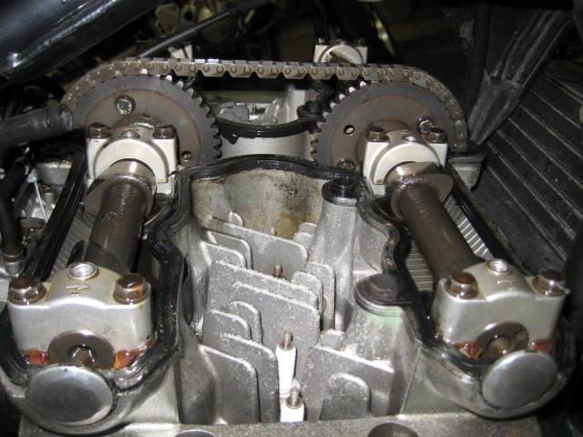 KMエンジンオイル漏れ修理 (14)