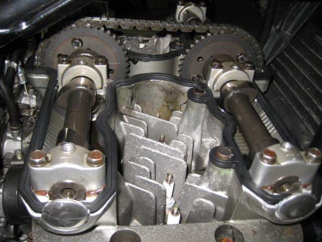 KMエンジンオイル漏れ修理 (68)