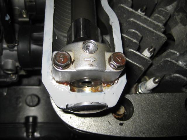 KMエンジンオイル漏れ修理 (69)