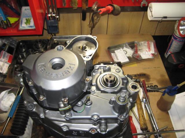 KSエンジン組み立て腰下完成 (7)