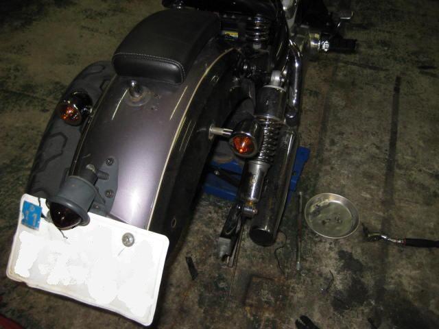 KDリヤウインカー交換、傷修正、完成 (2)
