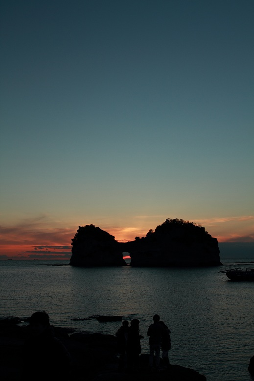 円月島、4