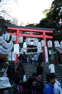 高田馬場まで通う係長のブログ-江島神社-1