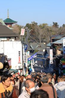 高田馬場まで通う係長のブログ-成田山-1