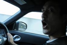 高田馬場まで通う係長のブログ-Z34運転