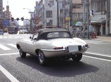 高田馬場まで通う係長のブログ-ジャガーEタイプ