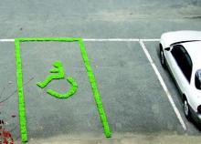 true-草の駐車スペース