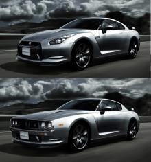 true-新旧GT-R